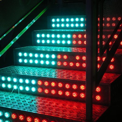 LED Lights Stairs